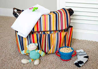 best diaper bag for two kids