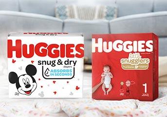 Huggies Snug and Dry vs Little Snugglers